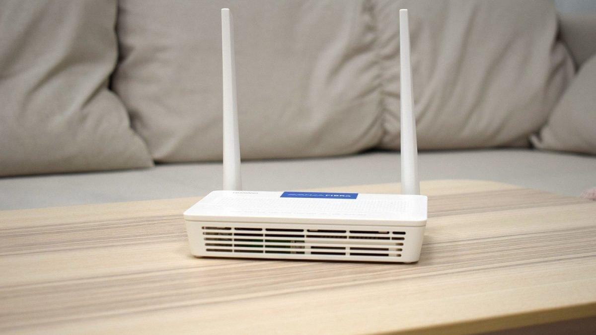 Internet fibra router Avanza Fibra
