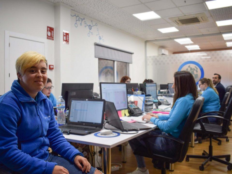 inclusión laboral de personas con síndrome de down