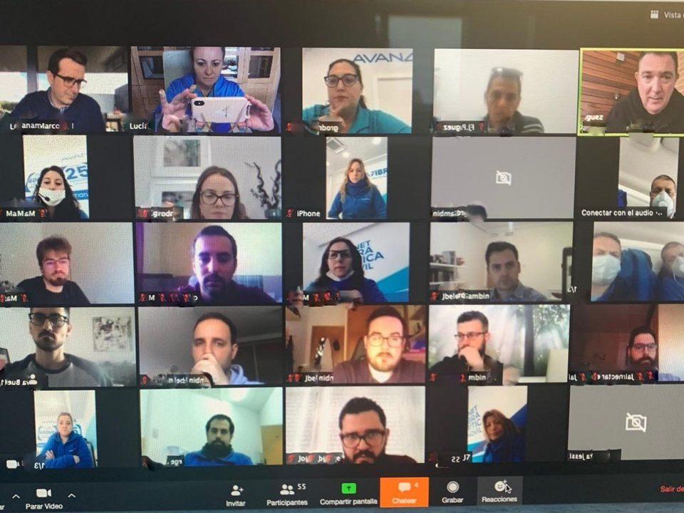Videollamada Grupal Avanza Fibra