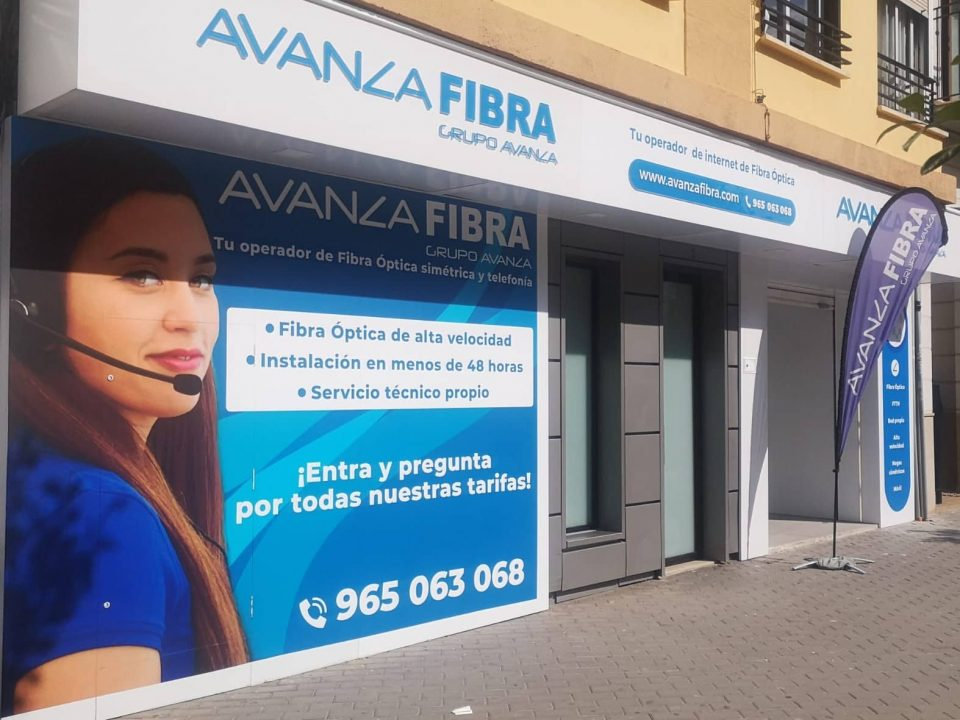 Tienda de Avanza Fibra en Silla